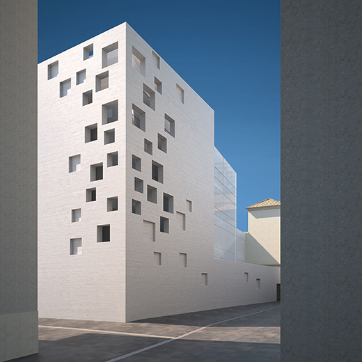 Sct estudio de arquitectura projects for Oficina recaudacion madrid